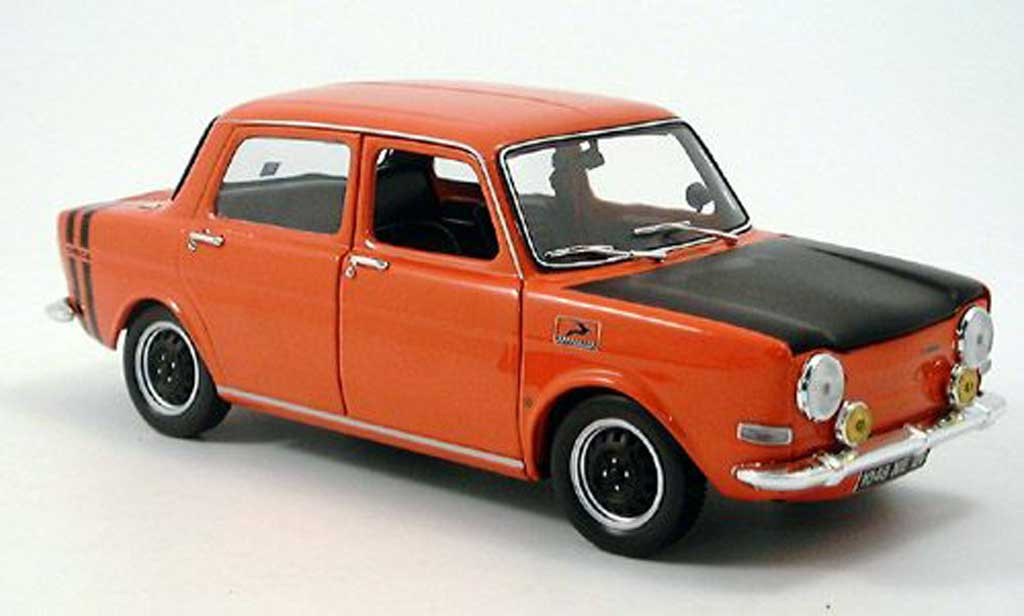 simca 1000 miniature rallye 1971 norev 1 18 voiture. Black Bedroom Furniture Sets. Home Design Ideas