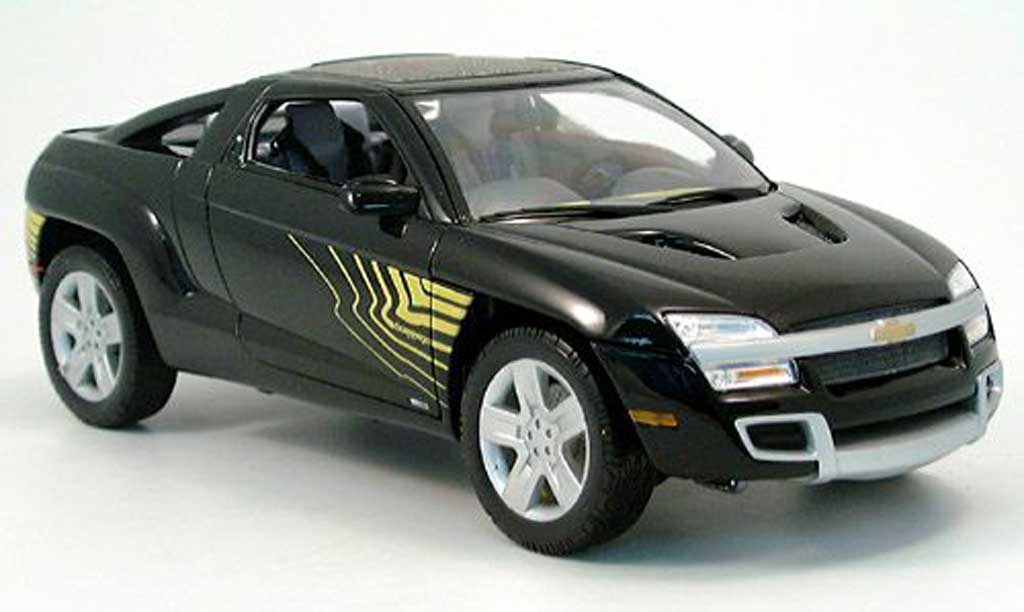 Chevrolet Borrego 1/18 Welly noire miniature