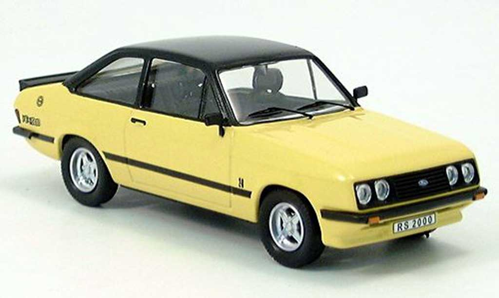 Ford Escort RS 2000 1/43 Trofeu yellow/black 1979 diecast model cars