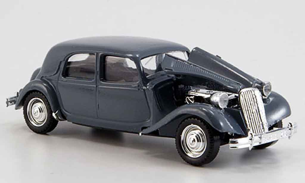 citroen traction 15 cv gray 1952 solido diecast model car 1  43  sell diecast car on