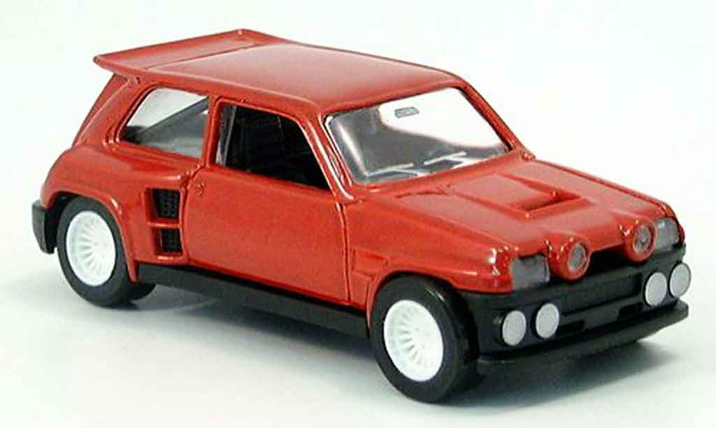 Renault 5 Turbo 1/43 Solido maxi kit red 1986 diecast model cars