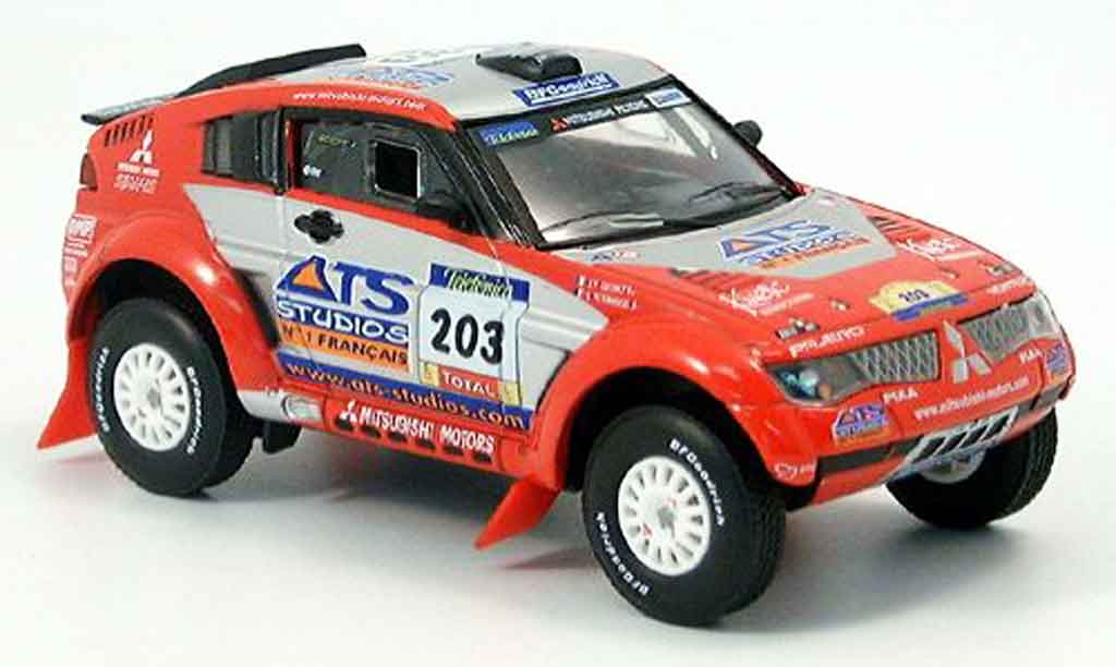 Mitsubishi Pajero Evolution 1/43 Solido No. 203 2004 miniature