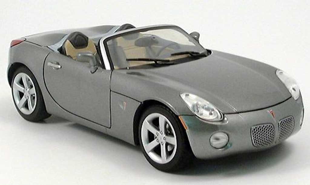 Pontiac Solstice 1/18 Yat Ming grise 2006 miniature