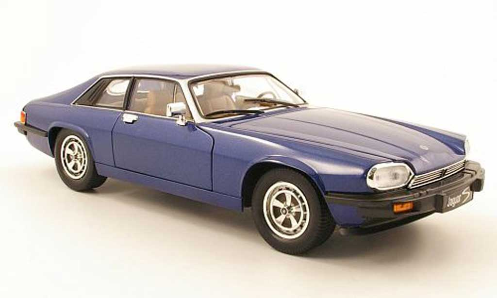 Jaguar XJS 1975 1/18 Yat Ming bleu diecast model cars