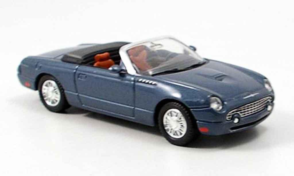 Ford Thunderbird 2003 1/43 Yat Ming offen anthrazit modellino in miniatura