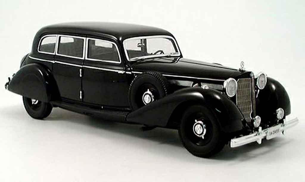 Mercedes 770 1/18 Signature k noire 1937 miniature