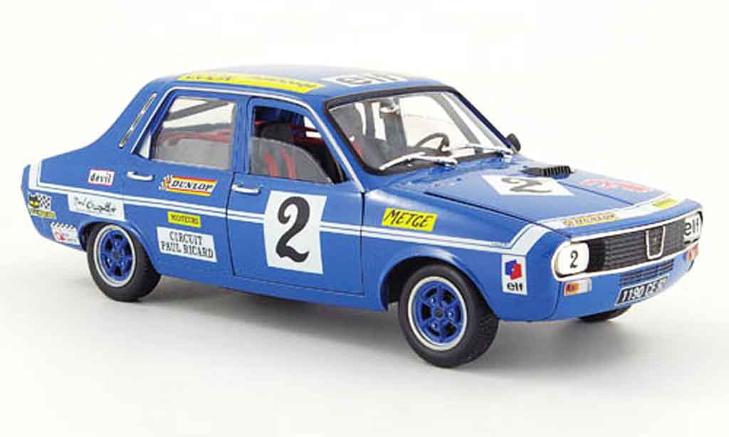 Renault 12 Gordini 1/18 Solido no.2 metge racing miniature