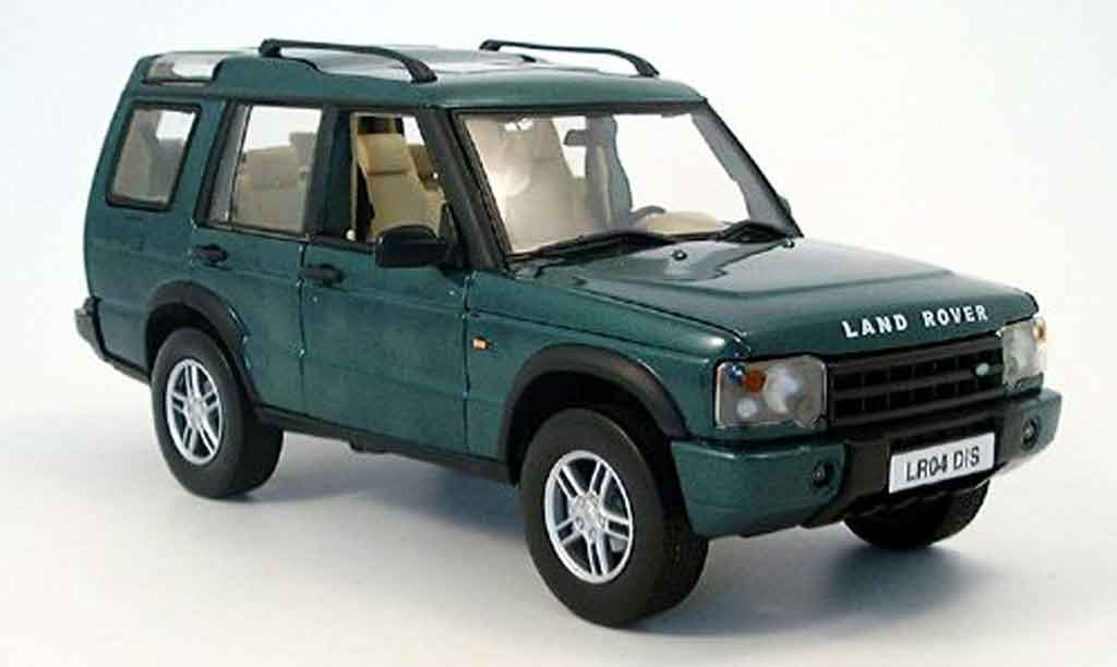 Land Rover Discovery green 2004 Solido diecast model car 1/18 ...
