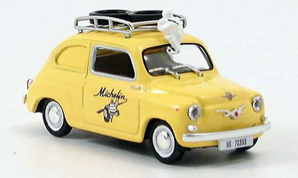 Seat 600 1/43 Solido michelin 1957 miniature