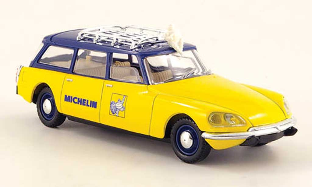 Citroen DS Solido. Citroen DS Michelin miniature 1/43
