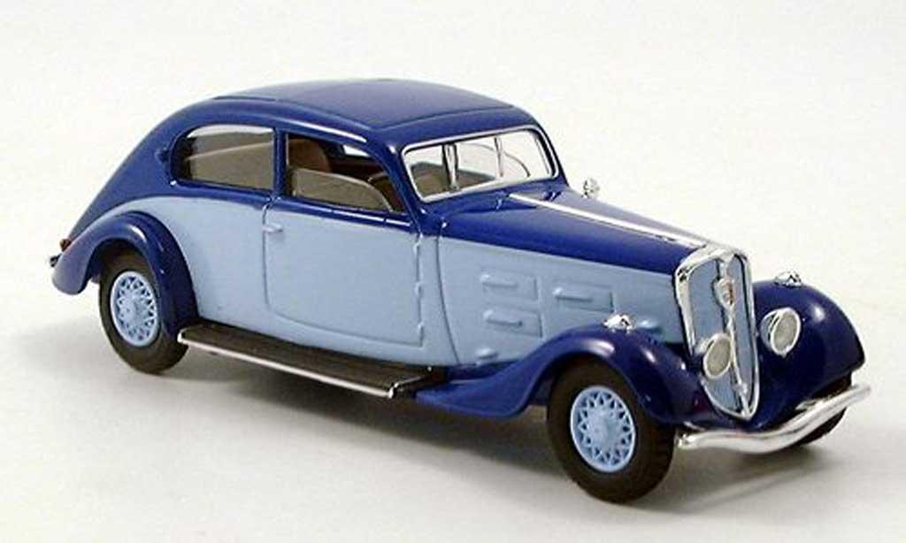 Peugeot 601 1/43 Solido bleu/bleu 1934 diecast