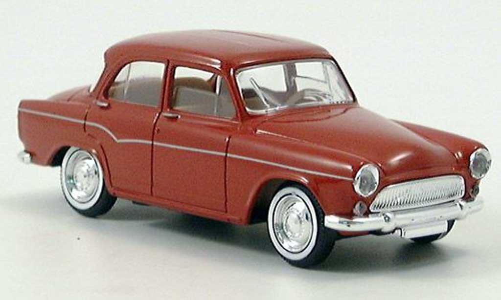Simca Aronde 1/43 Solido black-red  1960 diecast