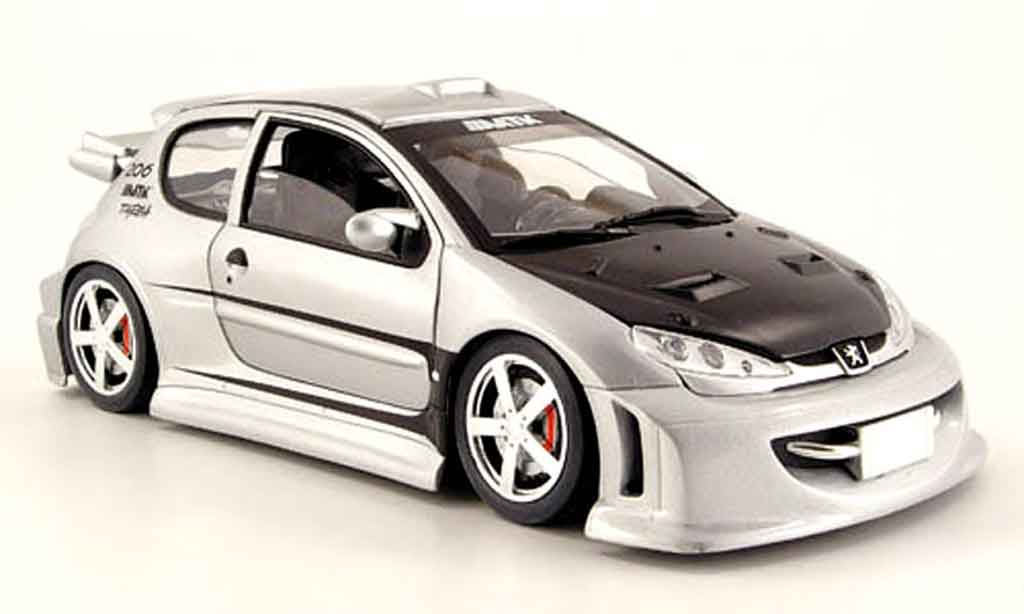 peugeot 206 wrc miniature tuning solido 1 18 voiture. Black Bedroom Furniture Sets. Home Design Ideas