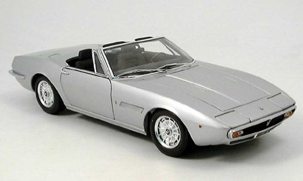 Maserati Ghibli spyder 1/18 Minichamps 1969 miniature