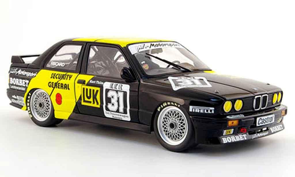 Bmw M3 E30 1/18 Minichamps DTM sieger nurburgring thim 1988