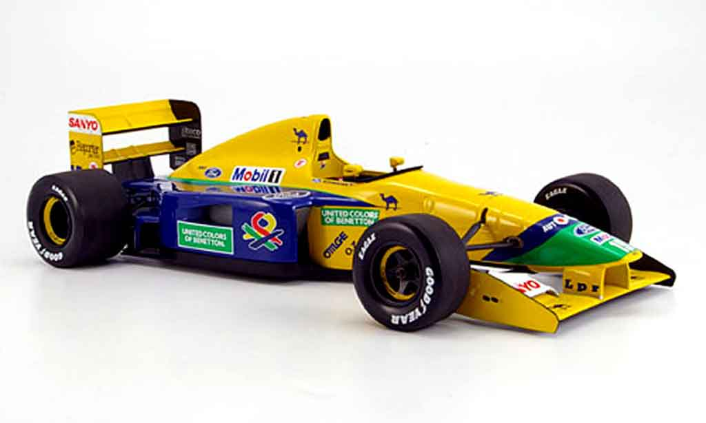 Ford F1 1992 1/18 Minichamps benetton b 191 b schumacher miniature