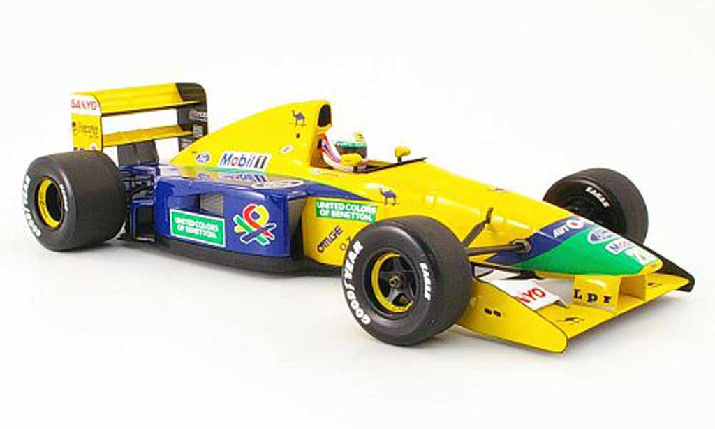 Ford F1 1992 benetton b 191 b m. brundle Minichamps diecast model car