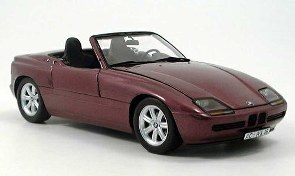 Bmw Z1 1/18 Minichamps lila 1988 miniature