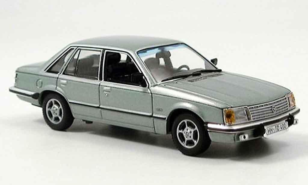 Opel Senator 1/43 Minichamps grun 1980 miniature
