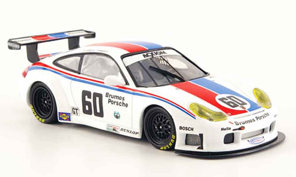 Porsche 996 GT3 RS 1/43 Minichamps Jeannette Franchitti Brum 2004 diecast model cars