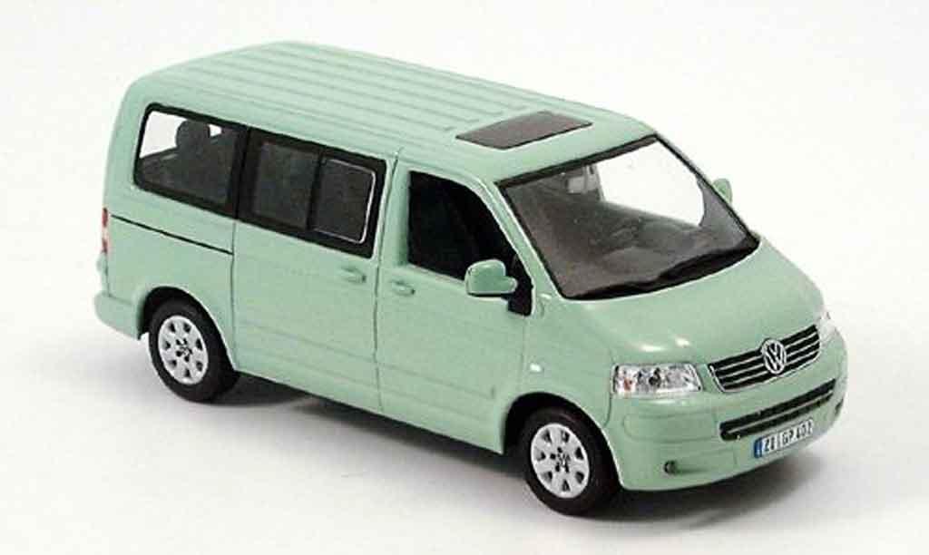 Volkswagen Combi 1/43 Minichamps t5 multivan verte 2003 miniature