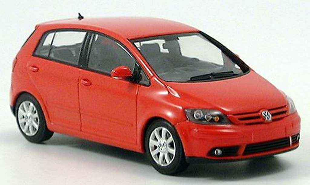 Volkswagen Golf V 1/43 Minichamps Plus rouge 2004 miniature