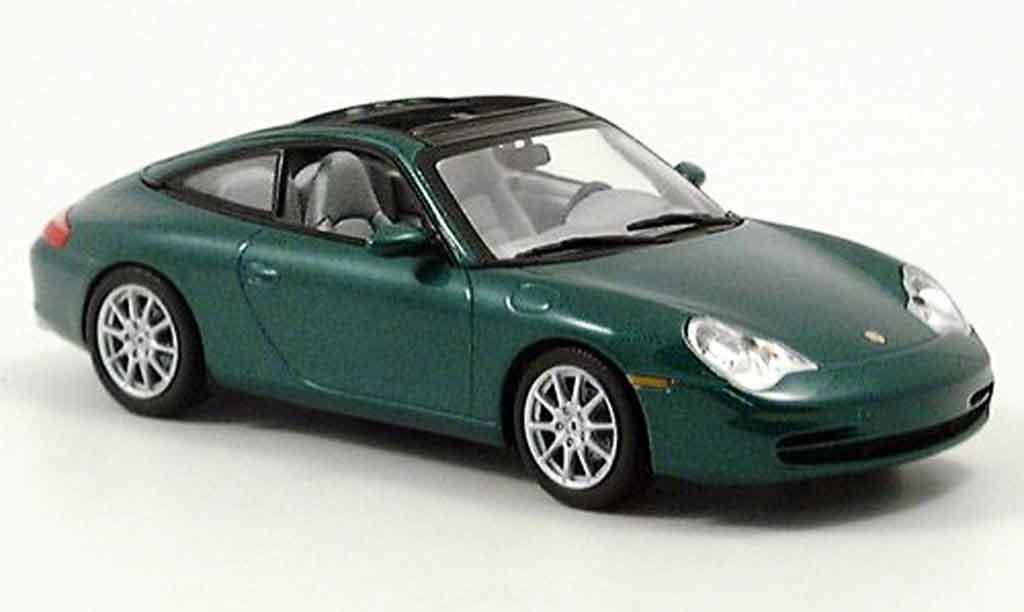Porsche 996 Targa green 2001 Minichamps. Porsche 996 Targa green 2001 miniature 1/43