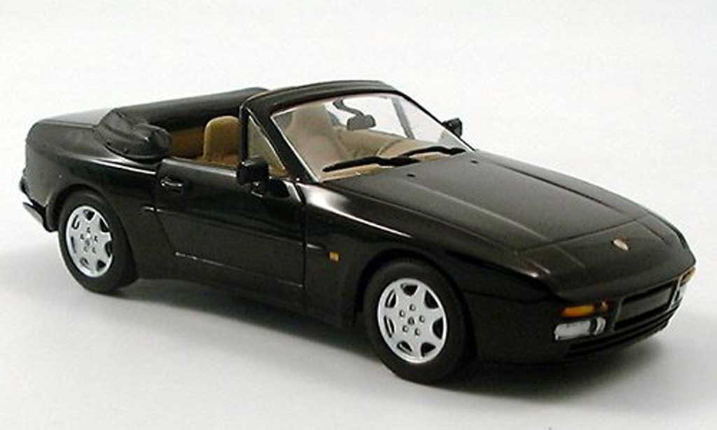porsche 944 1991 cabriolet schwarz minichamps modellauto 1 43 kaufen verkauf modellauto. Black Bedroom Furniture Sets. Home Design Ideas