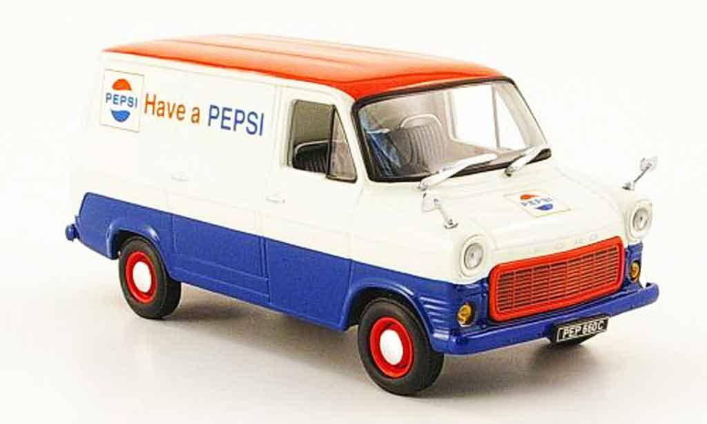 Ford Transit 1/43 Minichamps Kastenwagen Pepsi Cola 1971