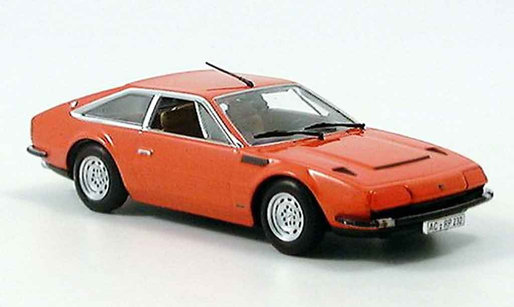 Lamborghini Jarama 1/43 Minichamps orange 1974 miniature