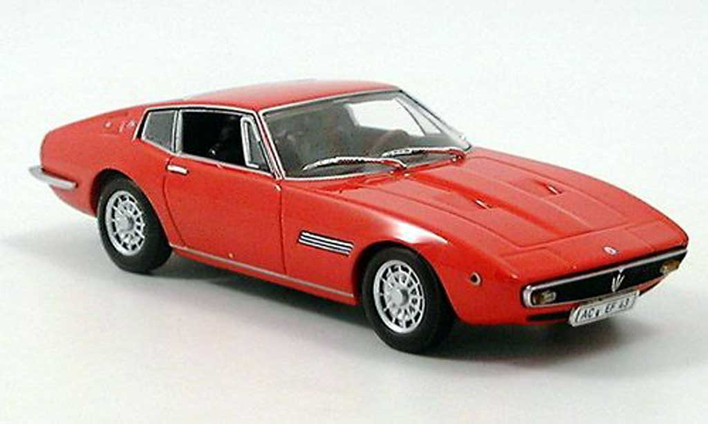 Maserati Ghibli 1/43 Minichamps Coupe rouge 1969 miniature