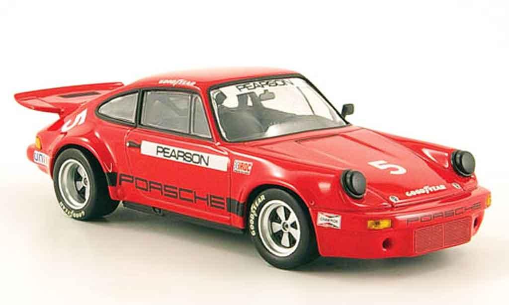 Porsche 911 RSR 1/43 Minichamps Carrera 2.8 IROC No.5 Riverside 1973 miniature