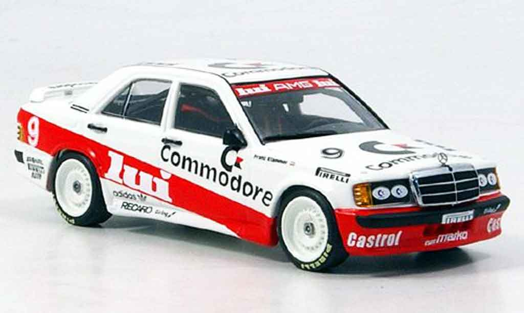 Mercedes 190 E DTM Commodore Klammer 1986 Minichamps. Mercedes 190 E DTM Commodore Klammer 1986 DTM miniature 1/43
