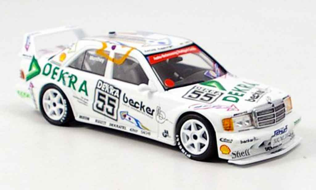 Mercedes 190 E 1/43 Minichamps E 2.3 No.55 Manthey Nurburgring DTM 1992 miniature