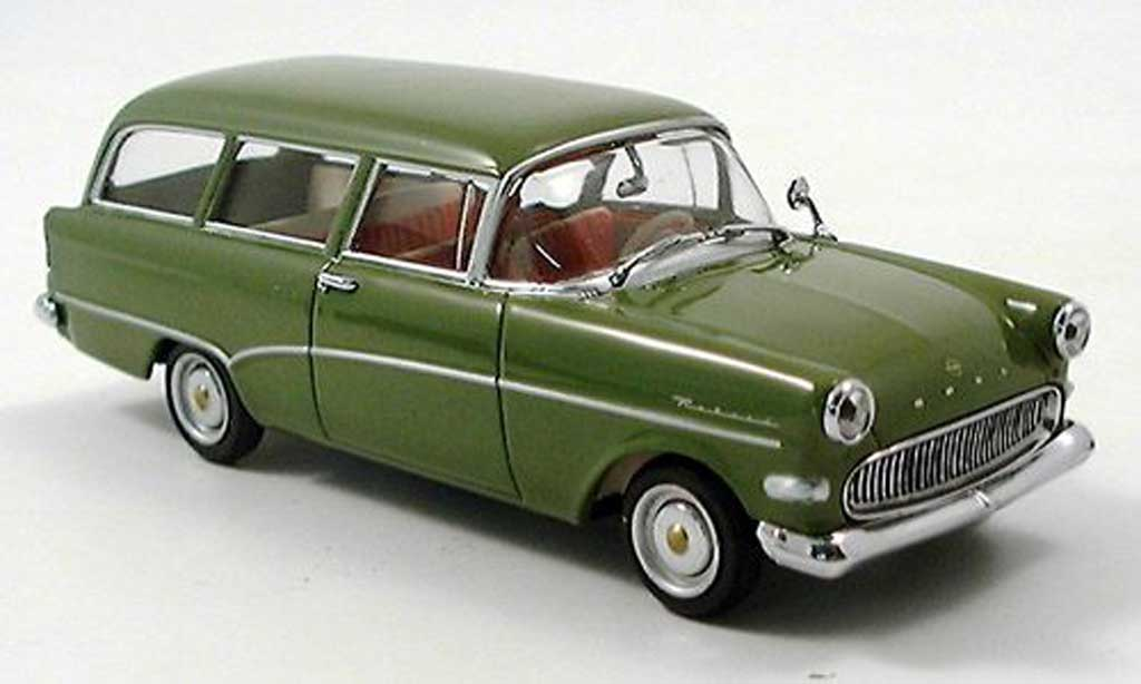 Opel Rekord 1/43 Minichamps P 1 Kombi verte 1958 miniature
