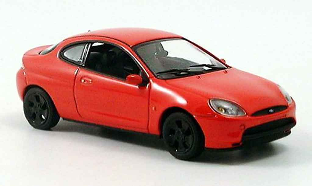 Ford Puma 1/43 Minichamps rouge 1996 miniature