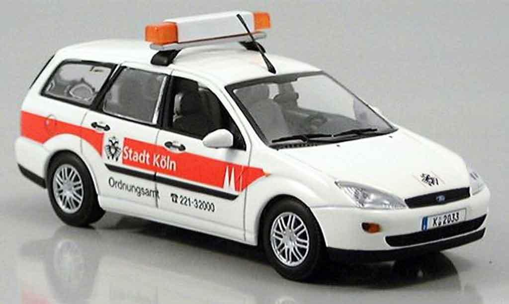 Ford Focus 1/43 Minichamps Turnier Ordnungsamt Koln 1997 miniature
