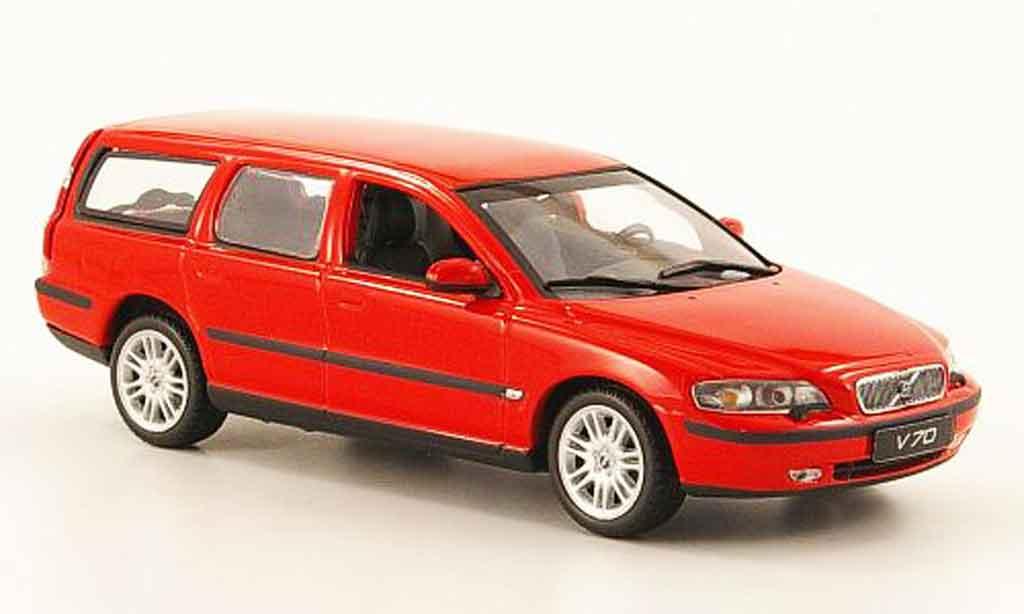volvo v70 rot 2000 minichamps modellauto 1 43 kaufen verkauf modellauto online. Black Bedroom Furniture Sets. Home Design Ideas