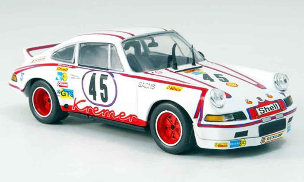 Porsche 911 RSR 1/43 Minichamps Carrera Sieger LeMans Kremer Schickentan 1973