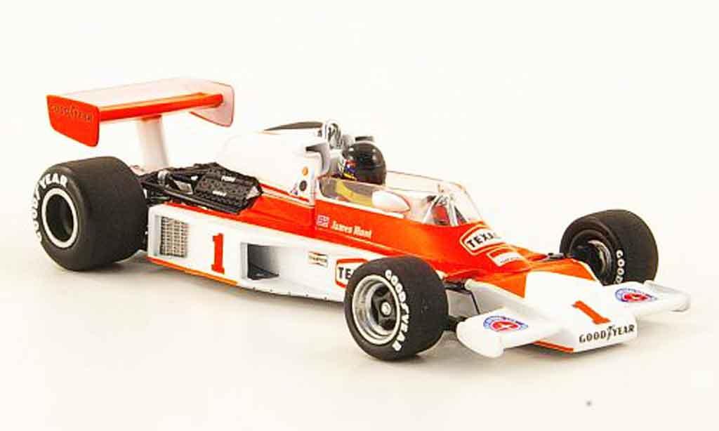 McLaren M23 1/43 Minichamps Ford No.1 Texaco J.Hunt USA GP West 1977 miniature