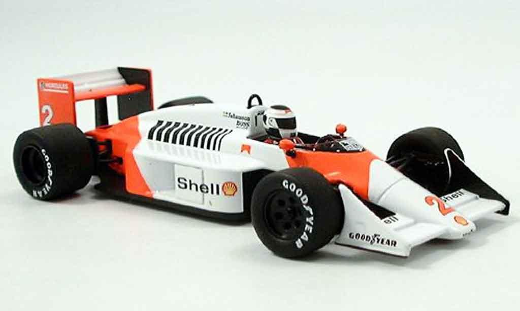McLaren MP4-12C 1/43 Minichamps MP4 /3 Tag Turbo Johanson 1987 miniature