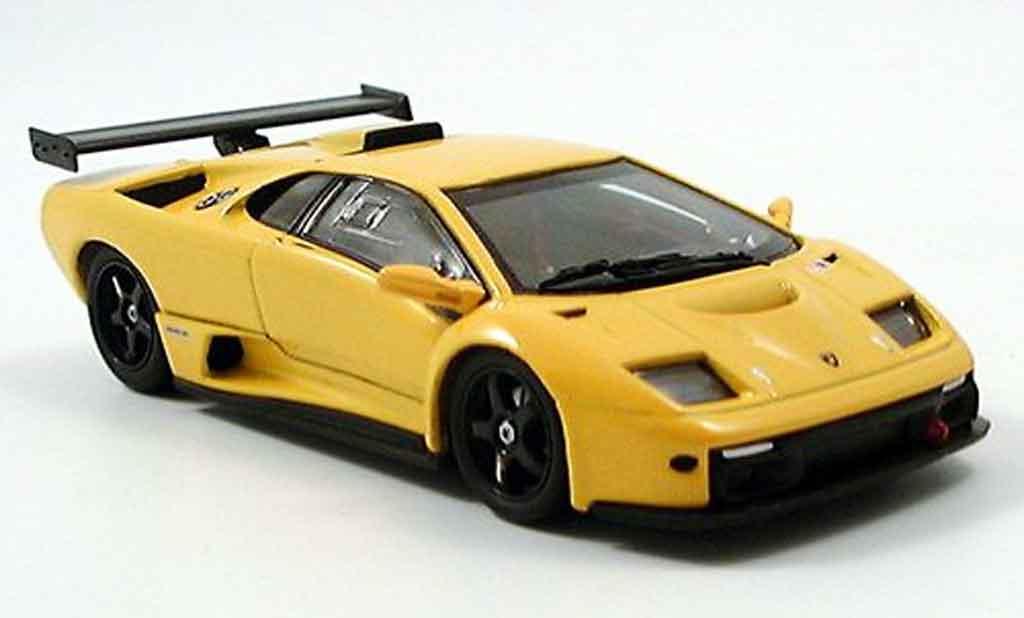lamborghini diablo gtr gelb kyosho modellauto 1 43 kaufen verkauf modellauto online. Black Bedroom Furniture Sets. Home Design Ideas