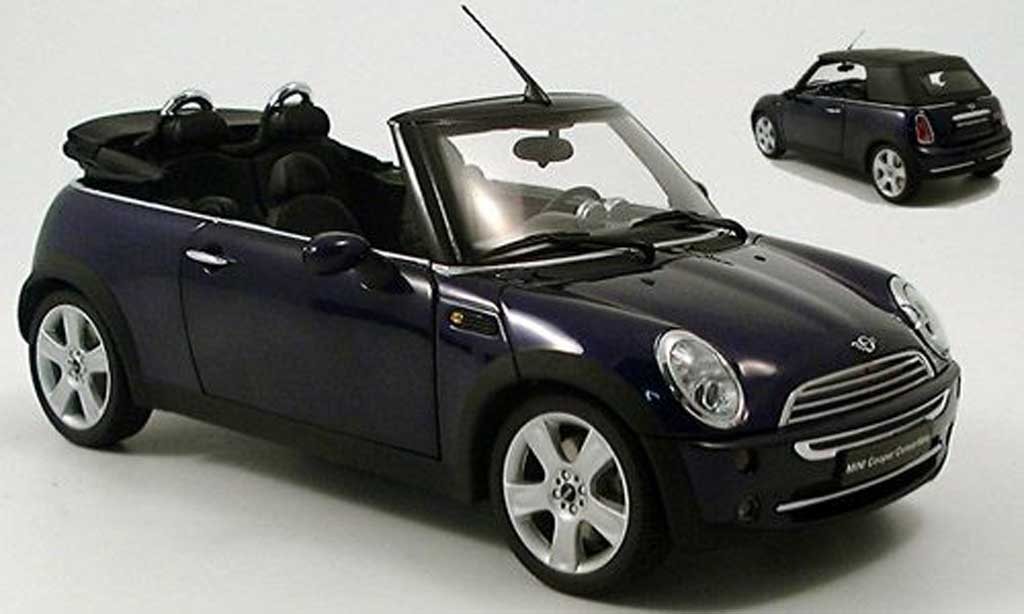Mini Cabriolet 1/18 Kyosho purple miniature