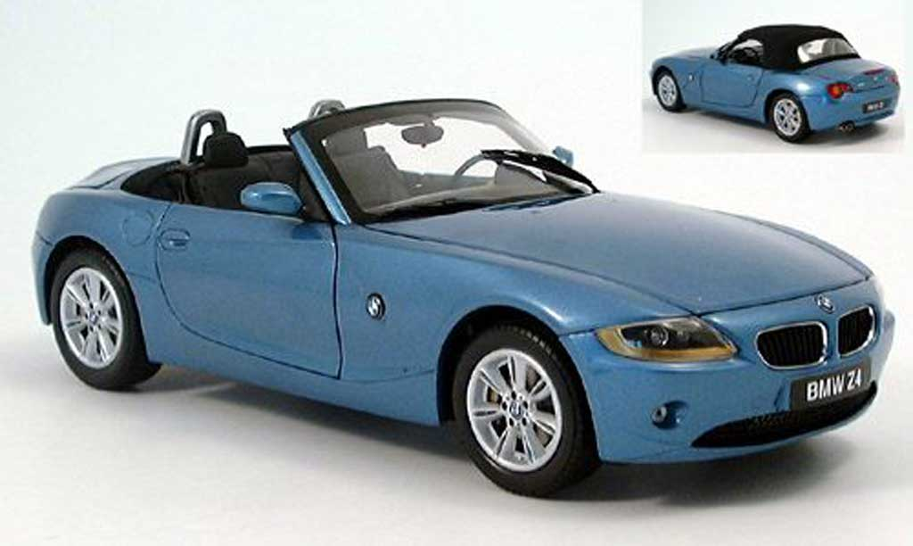 bmw z4 blau kyosho modellauto 1 18 kaufen verkauf modellauto online. Black Bedroom Furniture Sets. Home Design Ideas
