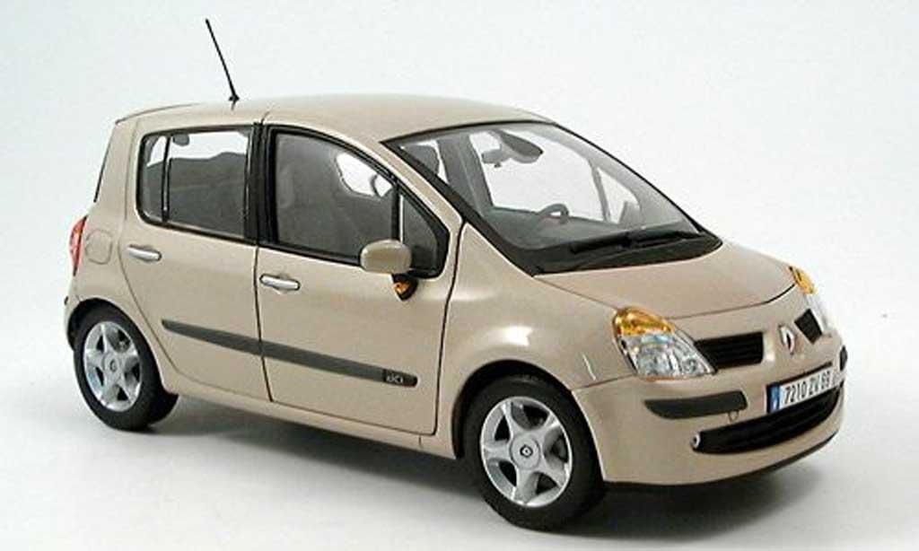 Renault Modus 1/18 Norev beige 2004 miniature