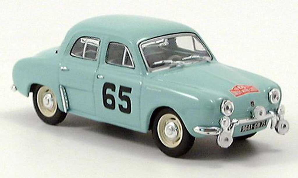 Renault Dauphine 1/43 Norev Rallye Monte Carlo No. 65 miniature