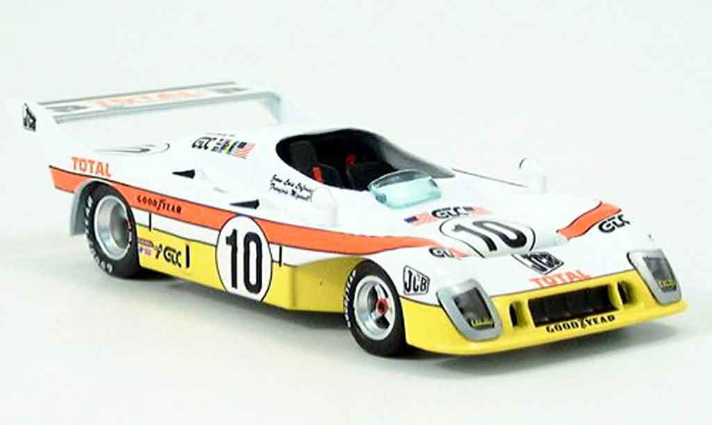 Mirage GR8 1/43 IXO JCB No. 10 2nd LeMans miniature