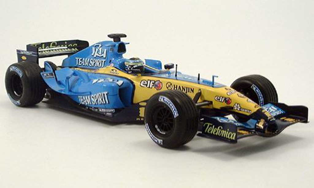Renault F1 1/18 Hot Wheels f1 g. fisica 2005 miniature