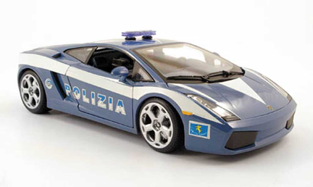 Lamborghini Gallardo 1/18 Maisto police (it) 2004 miniature