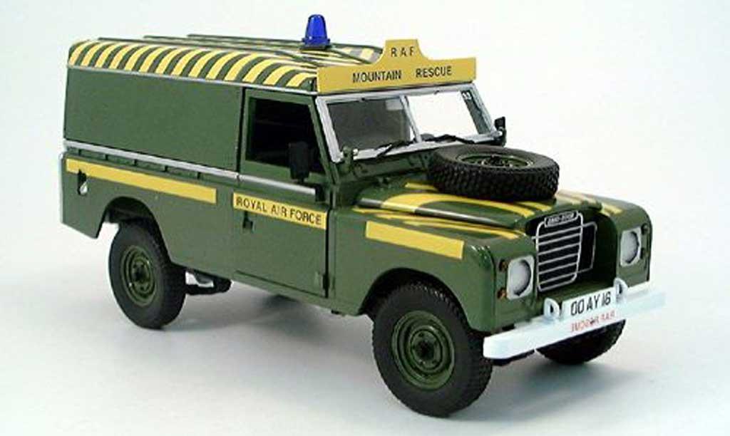 Land Rover 109 1/18 Eagle iii raf miniature